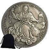 Jearls Monedas antiguas de níquel de 1823 del Caballero Antiguo de Italia - Moneda del Mundo de Italia - Moneda conmemorativa - Gran Moneda romana para papá/amigos Regalo favorito