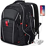 Zaino Porta PC 17.3 Pollici Laptop Impermeabile USB Zaini Notebook Scuola Viaggio Backpack Borsa Uomo Donna Nero …