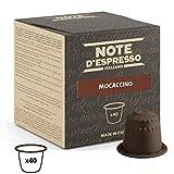Note d'Espresso - Cápsulas de mochaccino instantáneo, Exclusivamente Compatible con cafeteras Nespresso, 40 unidades de 4,3g
