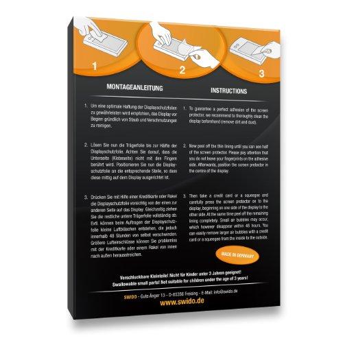 SWIDO Displayschutz für Huawei Ascend Y530 [4 Stück] Anti-Reflex MATT Entspiegelnd, Hoher Härtegrad, Schutz vor Kratzer/Glasfolie, Schutzfolie, Displayschutzfolie, Panzerglas Folie - 2