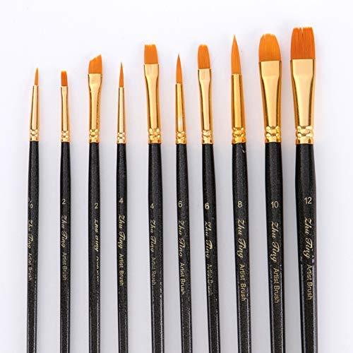 Student Stationery Gift School Office Desktop Supplies & 10Pcs Watercolor Water Paint Brush Calligraphy Drawing Pen School Art Supplies