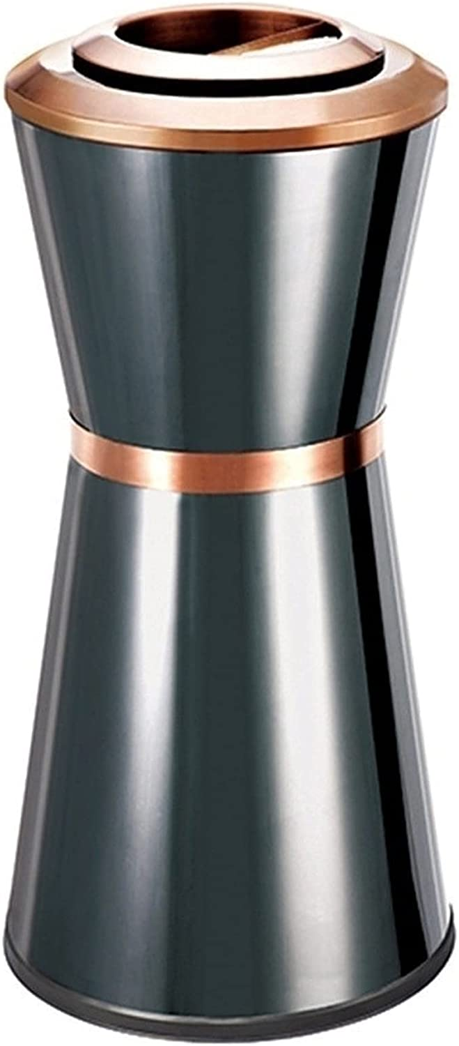 Trash can New life Vertical Can Direct sale of manufacturer Without Sealed Lid Stainless Steel