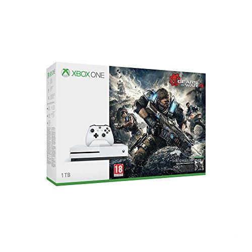 Xbox One S 1TB Konsole - Gears of War 4 Bundle