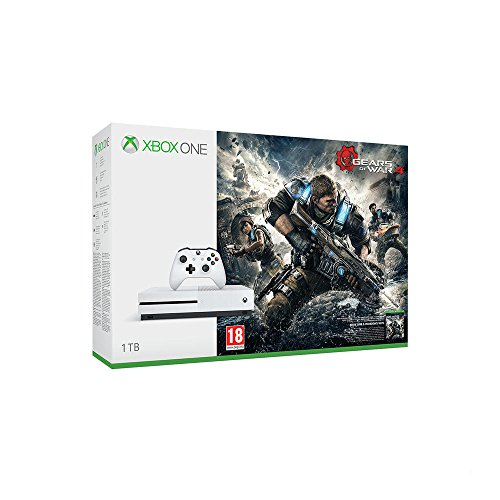 Xbox One S 1TB Konsole - Gears of War 4 Bundle