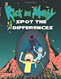 Rick And Morty Spot The Difference: Rick And Morty Activity How Many Differences Books For Adults, Tweens - (Unofficial)