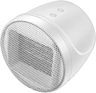 Cerámica Calentador de espacios Energy Efficient termostato portátil PTC calefacción eléctrica de vuelco y se sobrecalienta Protección aire más caliente del radiador Para el hogar de escritorio,Blanco