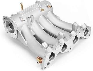 YJDTYM La Ingesta del Funcionamiento de Aluminio colector for 1988-2000 / Fit for Honda Civic/CRX en Forma for del Sol SOHC D/Ajuste for la Serie CX DX EX GX RS-CR1818 (Color : Silver)