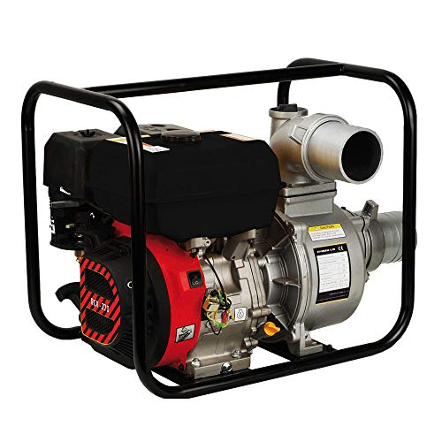 Motores Campeón MRX-100 Motobomba Autoaspirante a Gasolina de 4 Tiempos, Caudal Máximo de 96000 Litros/Hora
