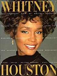 Whitney Houston: Greatest Hits. Partitions pour Piano, Chant et Guitare(Boîtes d\'Accord)