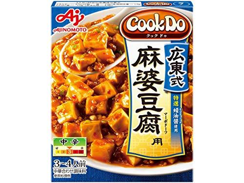 味の素 広東式 麻婆豆腐用 中辛 箱135g