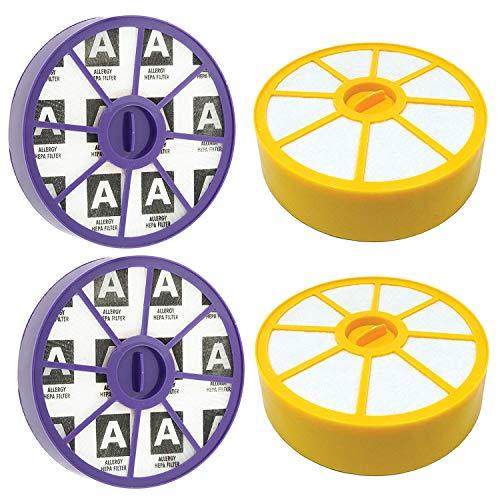 YBINGA Filtro premotor lavable y post motor alergia HEPA Kit de filtro para aspiradoras DC19 DC20 DC29 (2 de cada uno) para aspiradoras