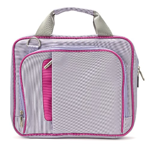 VanGoddy Pinn Purple Pink Messenger Bag Suitable for Apple iPad All Generations and Series Up to 10.8inch