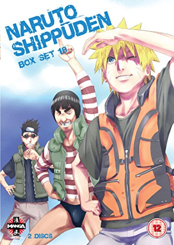 Naruto Shippuden Box Set 18 (Episodes 219-231) [2 DVDs] [UK Import]