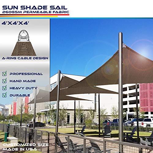 Windscreen4less A-Ring Reinforcement Large Sun Shade Sail 4