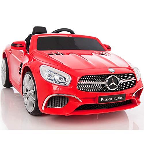 ATAA Mercedes SL400 con Mando para Adultos - Rojo Coche eléctrico para...