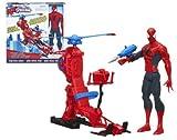 Marvel Spiderman - Figura titán con helicóptero (Hasbro A6747E27)...