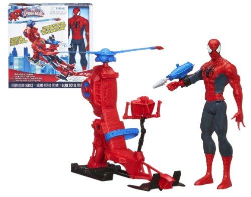 Spider-Man - A6747E27X - Figurine 30 Cm + Hélico