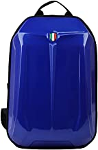 """ArtST Motorcycle Bike Hard Shell Backpack Fits for 15.6"""" Laptop and Notebook - Perfect for Riding Travelling Camping Cycling Storage Bag (blue)"""