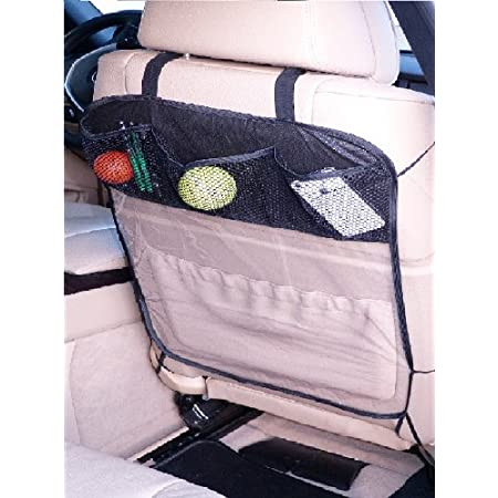 L P A178 Rückenlehnenschutz Sitzschoner Hecksitzschoner Lehnenschutz Mit 3 Taschen Organizer Schutz Für Sitzlehne Auto