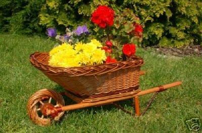 Schubkarre aus Korbgeflecht, 65 cm, Gartendeko, Kaminkorb, Kaminholzkorb aus Korbgeflecht, Rattan, Weidenkörbe, bepflanzen möglich, aus hochwertigem Korbmaterial, Korbgeflecht, Rattan, Weinkörbe, Weidenkorb, Pflanzkorb, Blumentöpfe, keine Holzschubkarre, Pflanztrog, Pflanzgefäß, Pflanzschale, Blumentopf, Pflanzkasten, Übertopf, Übertöpfe, Pflanzkarre, Blumentopf, Pflanzgefäß, Pflanztöpfe, Pflanzkübel, Pflanzkarre