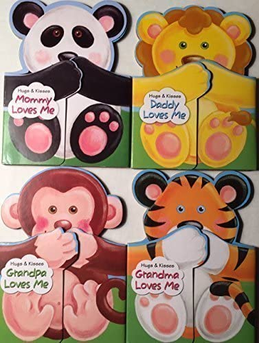 Hugs and Kisses Book Set Daddy Grandma Loves Gra Me Mail Sales order