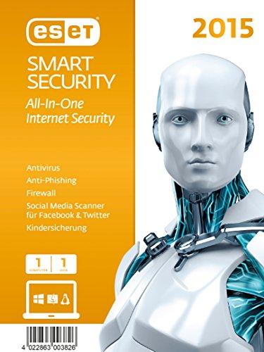 ESET Smart Security 2015 - 1 Computer [import allemand]