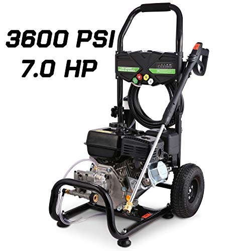 Why Choose TEANDE Gas Pressure Washer 212CC Gas Powered Power Washer for Cars Fences Garden,4200 PSI...
