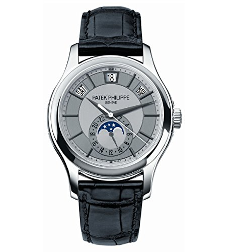 Patek Philippe Complications Annual Calendar Moonphase 40mm White Gold Watch