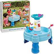 """LOTS OF FUN - Outdoor water toys don't come much more engaging than this! The perfect size for back gardens, this brilliant water table will provide hours of fun-packed splashing, pouring, and soaking! DEVELOP MOTOR SKILLS - Toddlers develop """"put and..."""