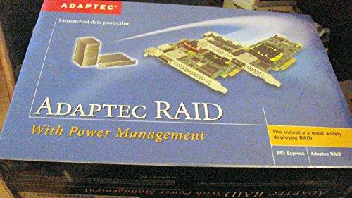 Adaptec RAID 5805 - Speichercontroller (RAID) - 8 Sender/Kanal - SATA 3Gb/s / SAS Low Profile - 300 MBps - RAID 0, 1, 5, 6, 10, 50, JBOD, 1E, 5EE, 60