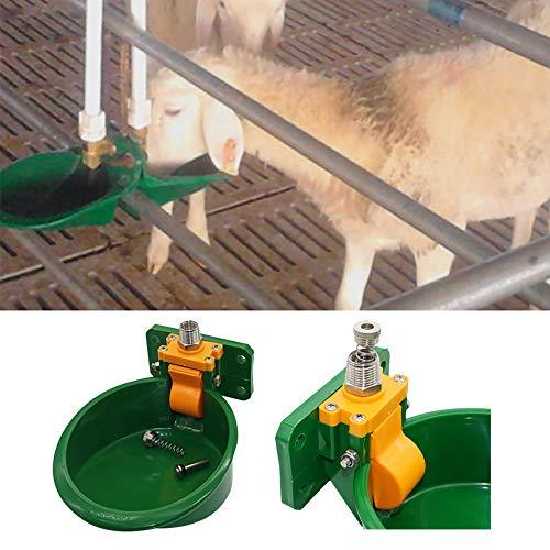 DEDC 1pcs Bebedero para Cerdos y Ovejas Recipiente de Agua de Plástico para Bebidas para Perro Caballo Ganado Cabra Oveja Cerdo