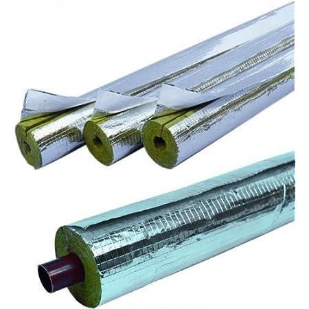 30 mm Isolierung WLG 035 Steinwolle 22 mm Dämmung Rohrschale Mineralwolle Rohr