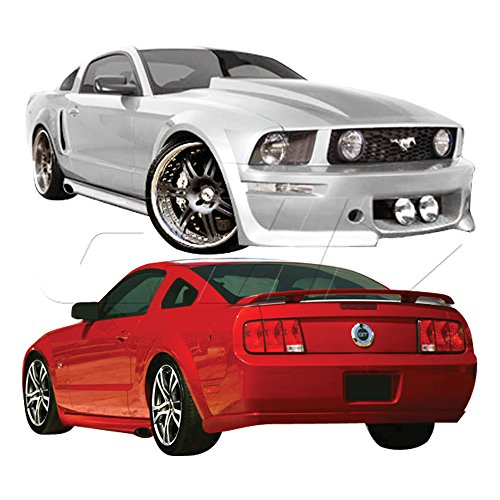 2005-2009 Ford Mustang Duraflex Eleanor Body Kit - 4 Piece