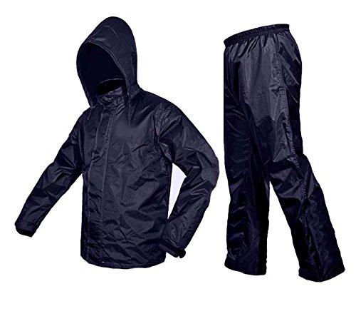 Zavia Premium Plain Rain Coat (XL- Free size) Blue