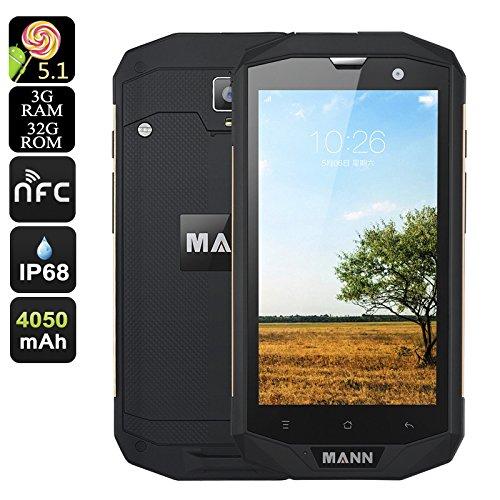 MANN ZUG 5S+ Rugged Smartphone (Oro)