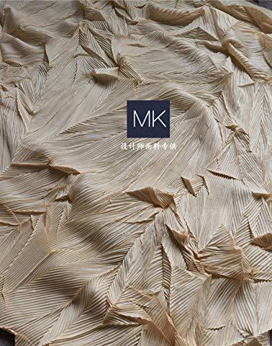 Se vende por metros como tela decorativa, diseño tridimensional de moda, tejido...