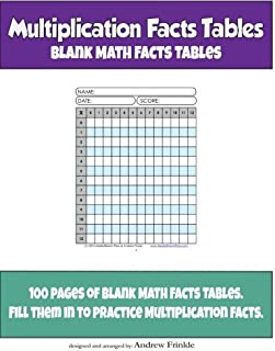 Best blank multiplication facts Reviews