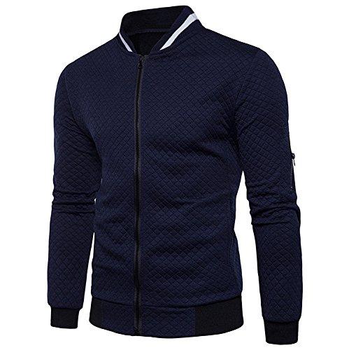 Sweatshirt à Capuche et Fermeture zippée - Covermason Homme Sweats à Capuche Manches Longue Cardigan zippé Sweat Tops Veste Manteau Hip Hop Sweaters Sweatshirt