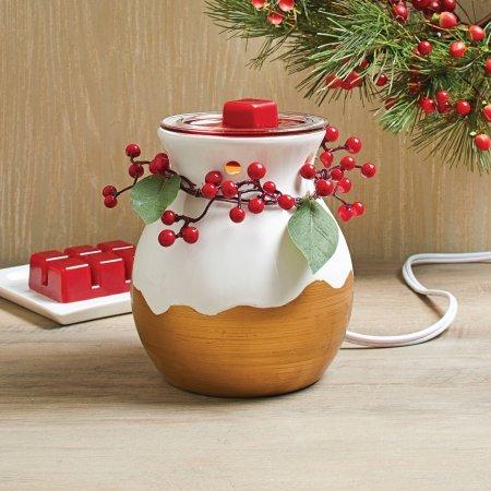Better Homes & Gardens Berry Wreath Full Size Wax Warmer