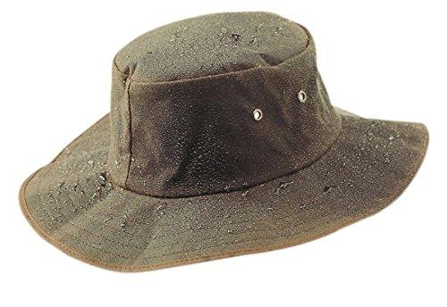 Wallaby OILSKIN BUSCH HUT (braun, L)