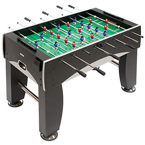 Devessport - Futbolín Silver con Jugadores de piernas Abiertas - Gran tamaño -...