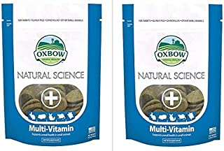 Natural Science Multi-Vitamin Oxbow Small Animal Supplement, 120 Count