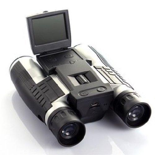 Agente007 - Prismaticos Binoculares Digital 12X con Camara Full HD Pantalla LCD Y Grabacion En Micro SD