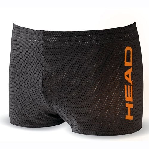Head zwembroek heren Double Power Drag Short zwart en oranje - zwart/oranje, XXL