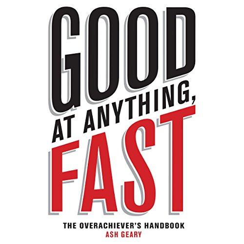 Good at Anything, Fast! audiobook cover art
