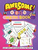 Awesome kids math book: kids books,Activity book for kids, workbook for kids,coloring book,baby books,childrens book,gift book for kids, preschool ... kindergarten, book for boys, book for girls.