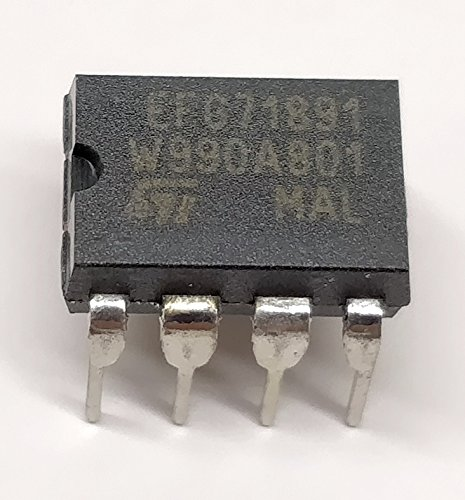 4 Stück EFG71891PD   DTMF GENERATOR FOR BINARY CODED HEXADECIMAL DATA   STMicroelectronics   DIP8 Gehäuse