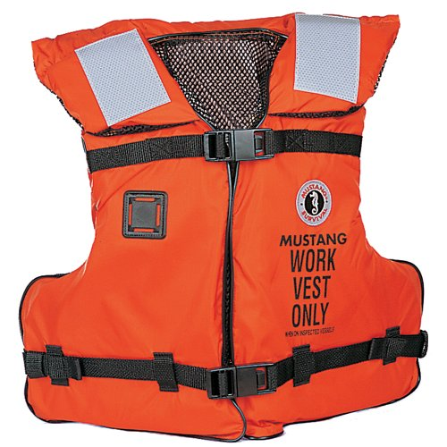 Great Features Of MV3192 - Mustang Work Vest w/Solas Tape