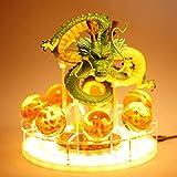 Anime Dragonball Lámpara De Mesa 3D Son Goku Led Night Light Dragon Ball Z Shenron Crystal Ball DBZ ...