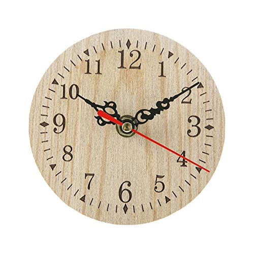 Reloj de Pared de Madera rústico Vintage Antiguo Shabby Ret
